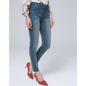 WHITE HOUSE BLACK MARKET The Skinny Ankle Jeans 2